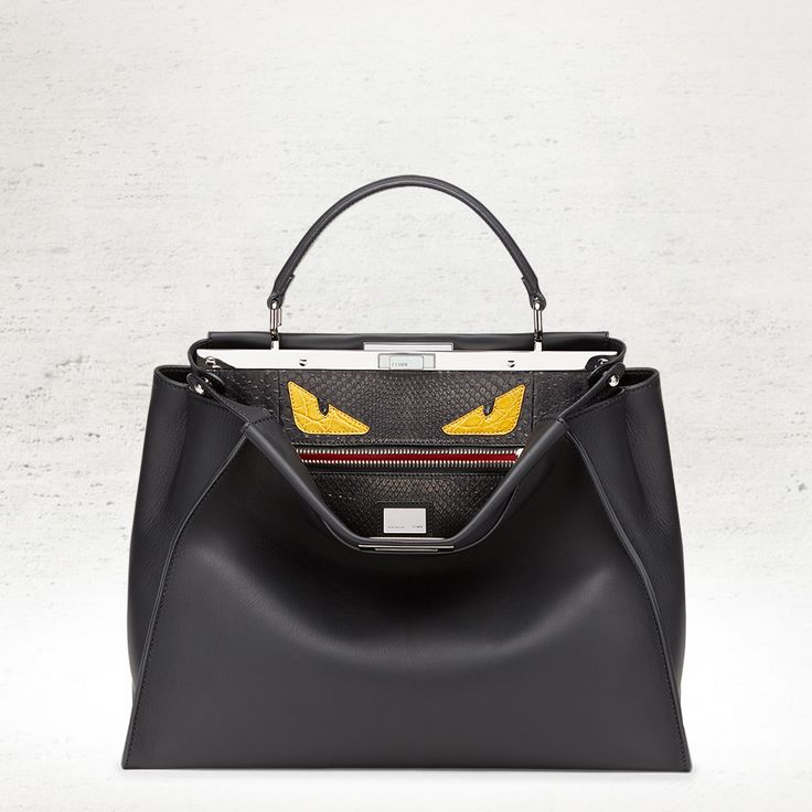 The Fendi Fall/Winter 2014-15 Peekaboo with a Fendi Bag Bugs touch