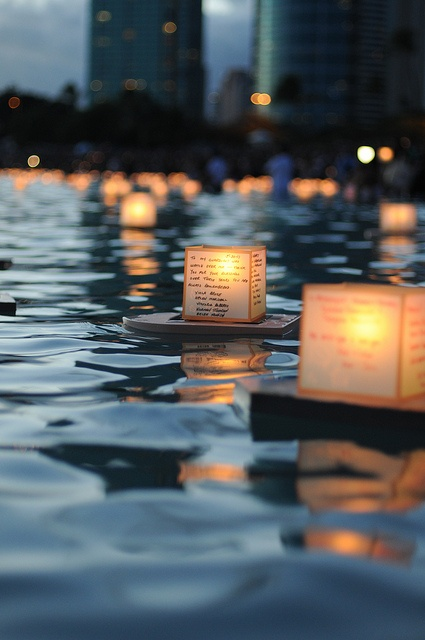illuminate. hope. river. light.
