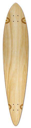 Blank Longboard Deck PINTAIL 40 X 9 board W/ Free shipping Natural