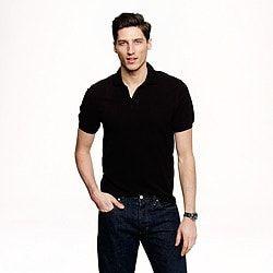 Slim classic piqué polo shirt men t-shirts & polos c