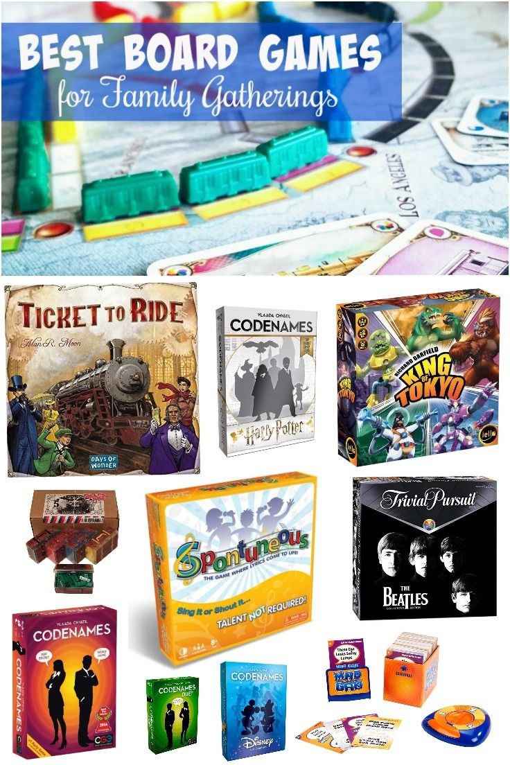 Best Family Board Games For Family Game Night Fun Board Games Best Family Board Games Board Games