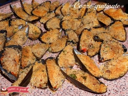 ricetta cozze gratinate gustose ricetta antipasto