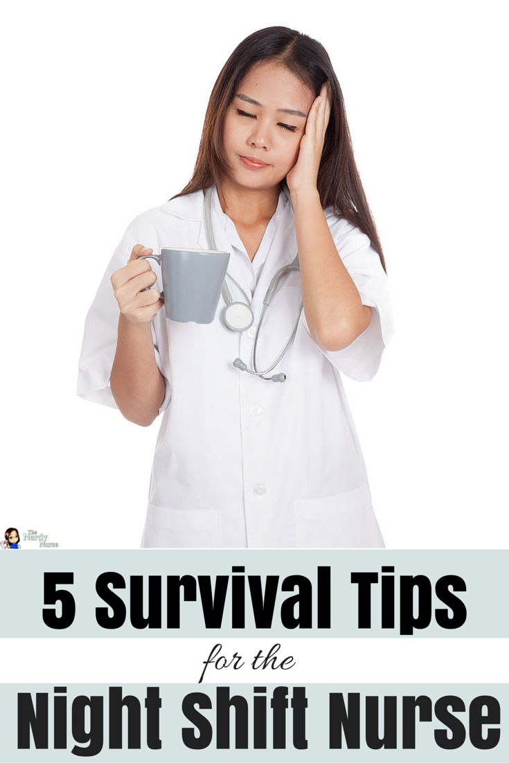Working night shift can really do a number on you. These nigh shift survival tips are great for nurses and nurisng students alike - 5 Survival Tips for the Night Shift Nurse Pin for Later! http://thenerdynurse.com/2016/01/5-survival-tips-for-the-night-shift-nurse.html