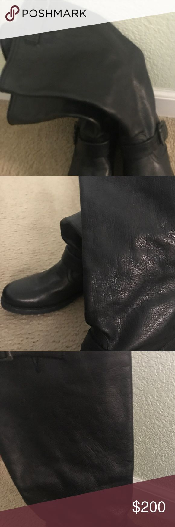 Frye Veronica Slouch size 8 Brand new frye Veronica Slouch boot. Used once but just not my style! Frye Shoes Combat & Moto Boots