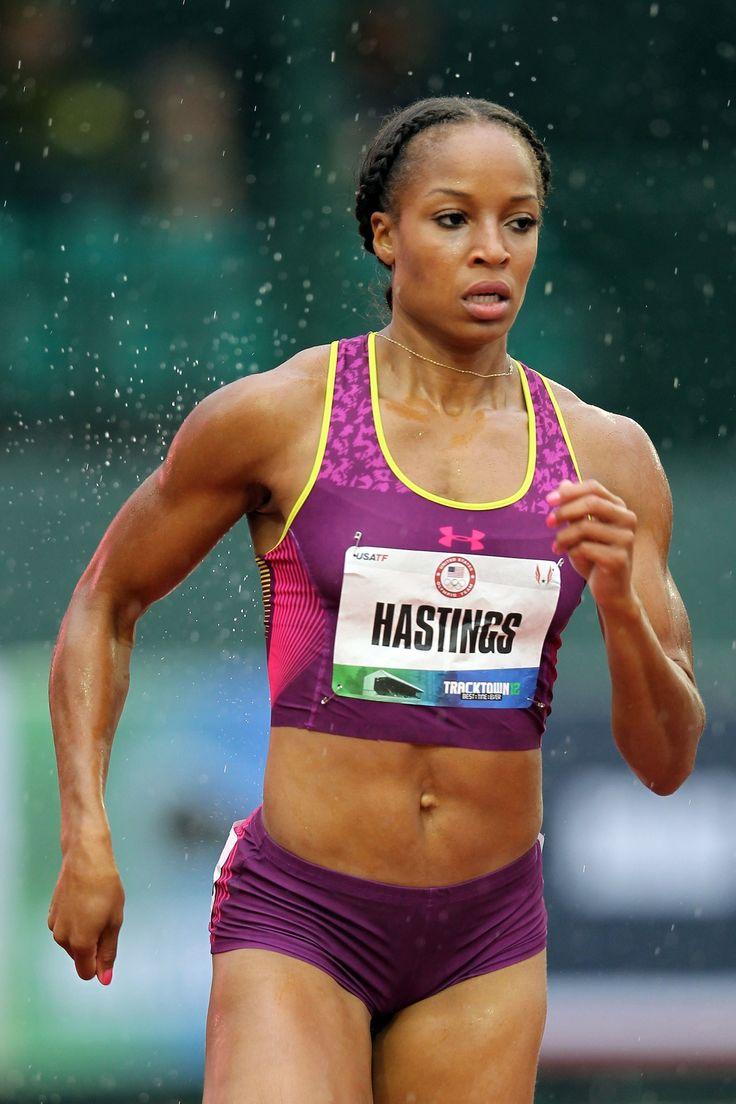 running tips from Olympian Natasha Hastings - run less, break it down and add variety