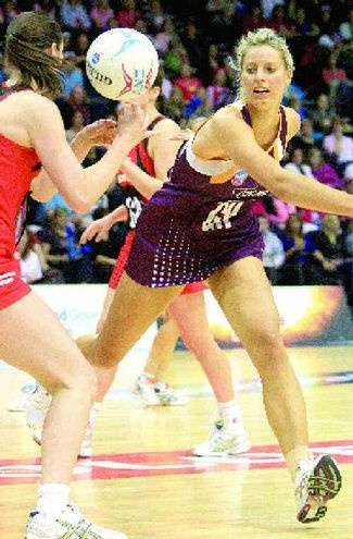 LAURA Geitz has retained her place in the Australian squad to train for the Holden Netball Test Series, featuring the Constellation Cup and Quad Series.
