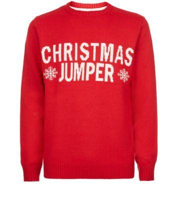 #Red #Snowflake #ChristmasJumper