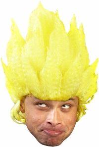 yellow anime goku wig #videogames