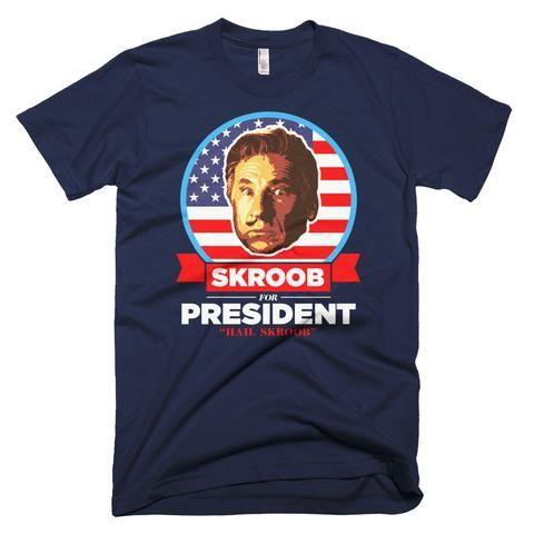 President Skroob Spaceballs Shirt - Black