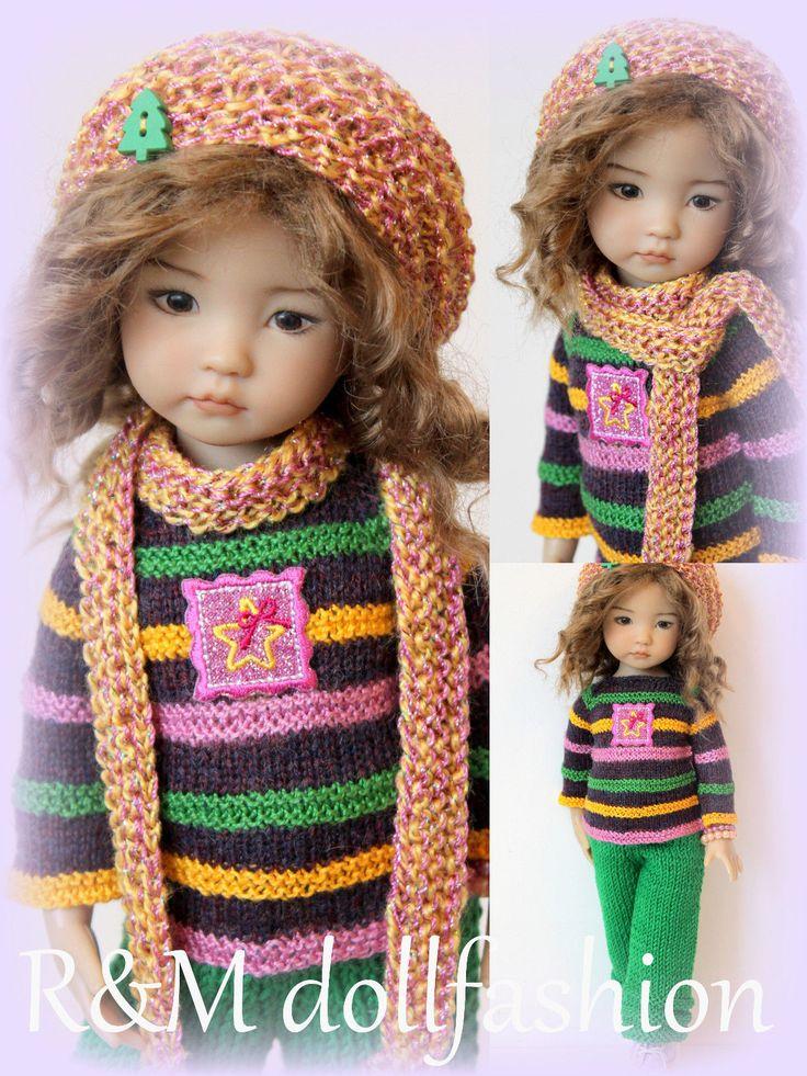 "R&M DOLLFASHION -OOAK CHRISTMAS LINE outfit for LITTLE DARLING EFFNER 13"" dolls   eBay"