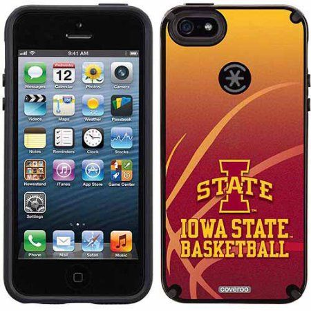 Iowa State Basketball Design on Apple iPhone 5SE/5s CandyShell Case by Speck
