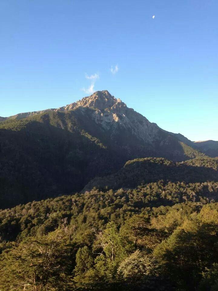 Volcán en reserva nacional Altos de Lircay, Chile