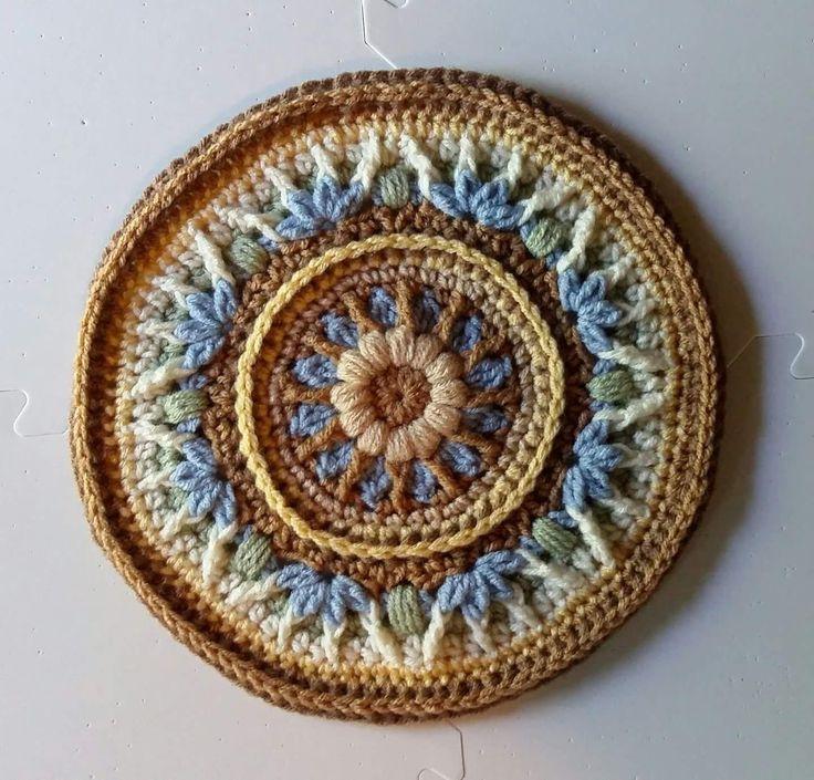195 besten - Crochet Mandalas - Bilder auf Pinterest   Häkeln ...