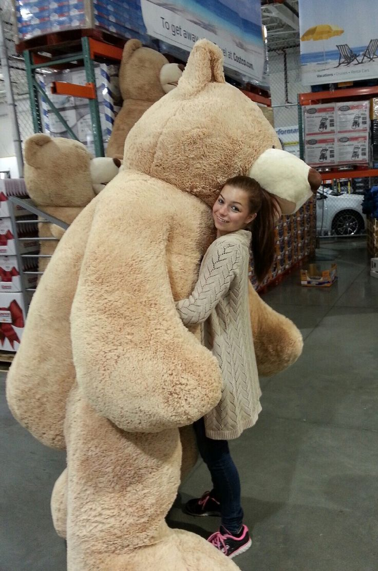 4. The fact that you are now aware that one can purchase this 93-inch teddy bear at Costco.