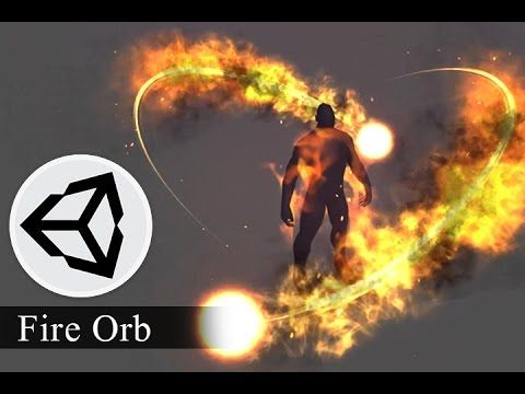 Effect Animation - How to creat 3d effect animation for game Fire Orb - Unity…