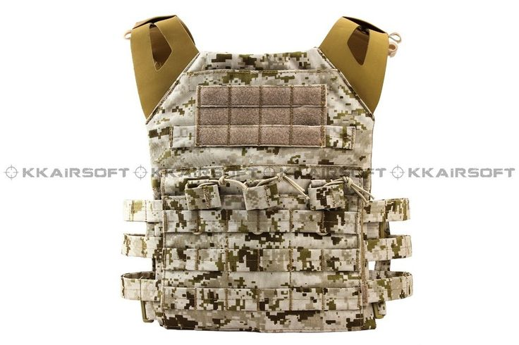 (66.49$)  Buy here - http://aijxt.worlditems.win/all/product.php?id=918721616 - military tactical vest molle 1000D Airsoft Emerson JPC Tactical Vest Simplefied Version (AOR1 AT Marpat Woodland) em7344e