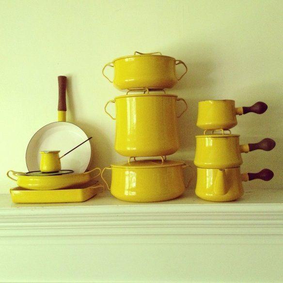 set dansk cookware goldenrod yellow cookware set kitchen stuff kitchen