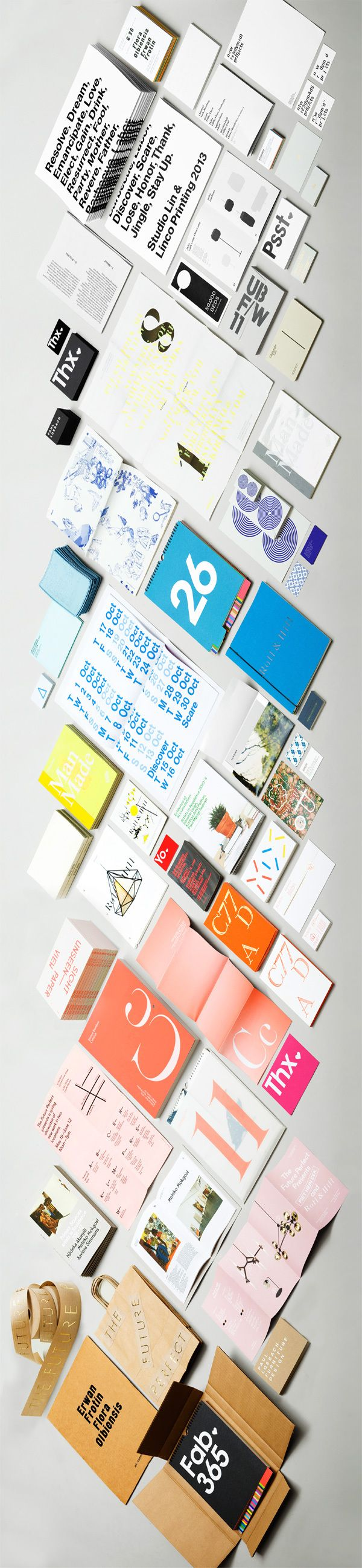 FAB: Studio Lin Color Strip by Studio Lin, via Behance