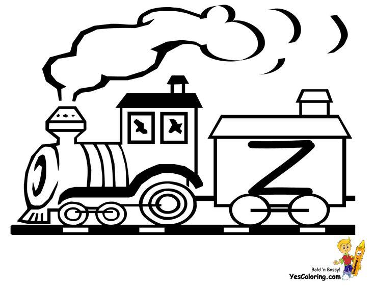 Free Letter Z Coloring Pages Page Zebra Zorro Zeplin Color It