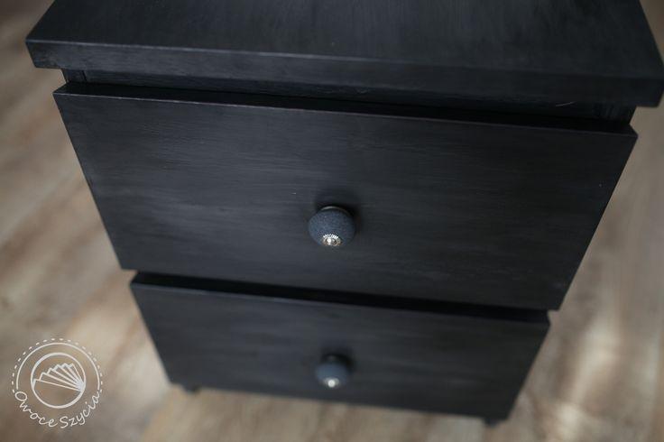 Komoda Ikea w nowej odsłonie | Ikea nightstand remake #chalkpaint #diy