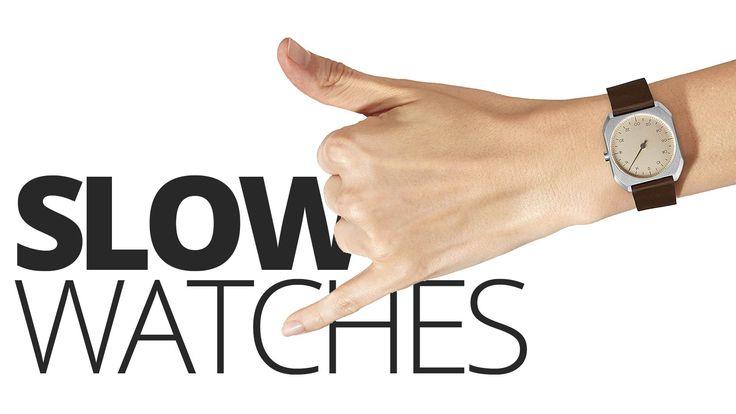 Slow Uhren – die Einzeigerarmbuhren aus Hamburg mit Schweizer Uhrwerk  #slowmo #slow #slowjo #slowwatch #slowuhr #analoguhr #watch #watches #luxurywatch
