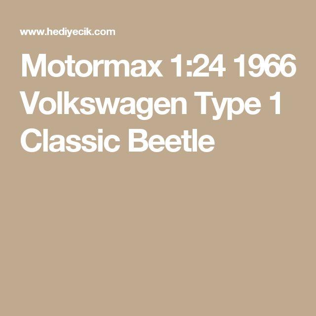 Motormax 1:24 1966 Volkswagen Type 1 Classic Beetle