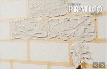 les 25 meilleures id es de la cat gorie murs de briques faux sur pinterest mur placage en. Black Bedroom Furniture Sets. Home Design Ideas