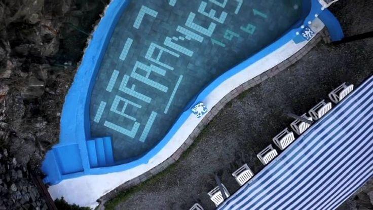 Il Resort La Francesca visto dal cielo: la Spiaggia