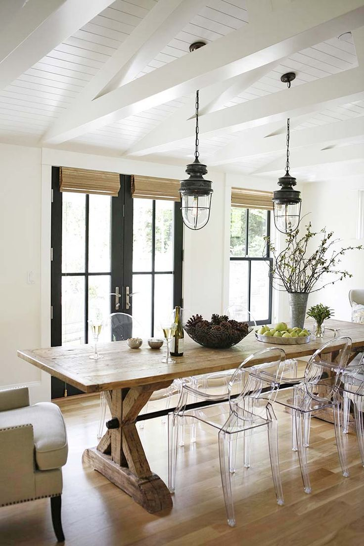 A Gorgeous Modern Farmhouse Style Home In Washington KitchensFarmhouse DesignFarmhouse Dining RoomsModern