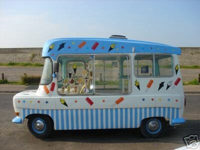 If I ever win the lottery I would buy an ice cream van & sell Mr whippy's & penny sweets