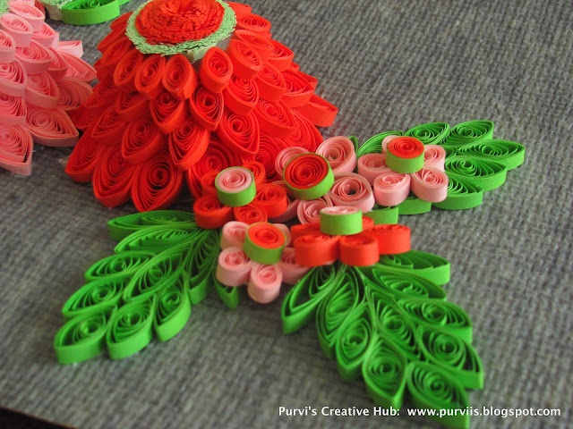 3D Quilled Dahlia, 3D Quilled flower  purviis.blogspot.com: Purvi S Creative, Purvi Creative, Creative Hub, Flowers Purvii Blogspot Com, 3D Quilling, Quilling Art, Quilling Flowers, Paper Quilling, Quilling Dahlias