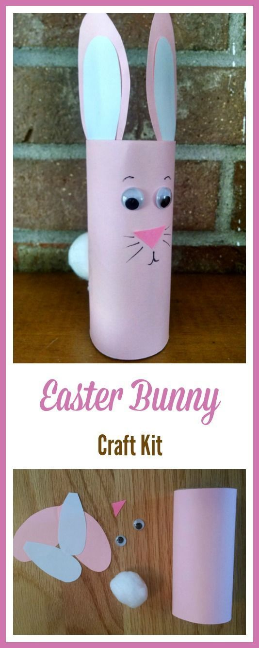 Easy spring crafts for elementary kids   easter bunny crafts for preschool kids #Easterbunny #eastercrafts #affiliate