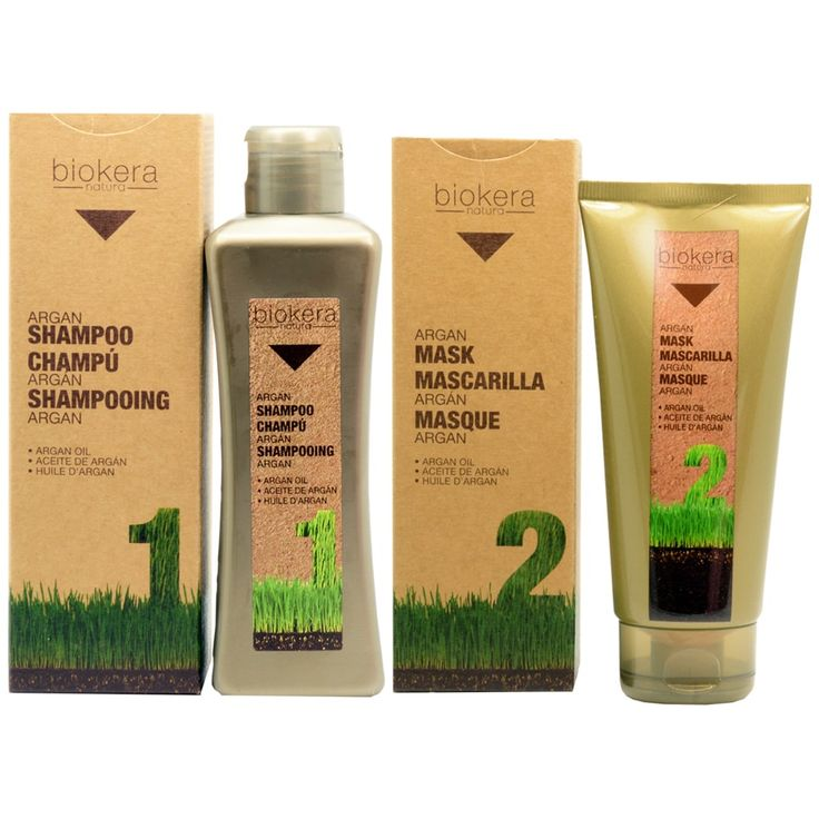 Salerm Biokera Argan Shampoo & Mask 4-piece Gift Set
