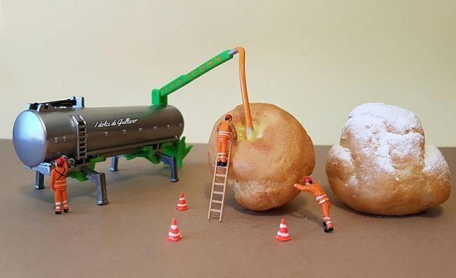 Pasta Şefinden Minyatür Dünya'ya Obur Bakışı Temsil Eden Birbirinden İlginç Fotoğraflar Sanatlı Bi Blog 16