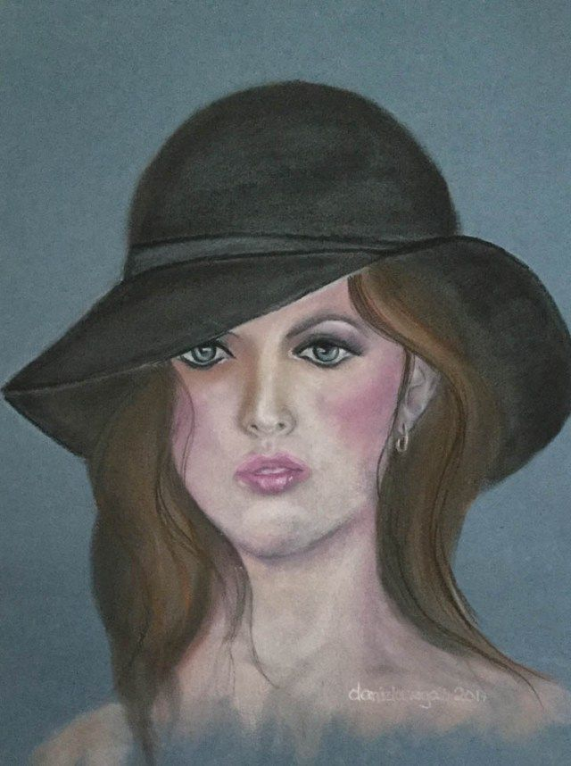 PASTELLMALEREI - Portrait 5 by Daniela Rogall - Portraits mit PanPastel