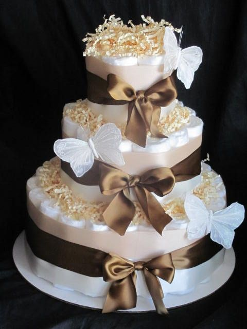 @treatdream and @Rachel B - another diaper cake idea - we could use hay for the top of the sections