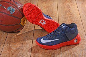 8a71ad761228 Men s Nike KD 5 Trey IV EP Obsidian Bright Crimson 844573 416 boys Basketball  Shoes
