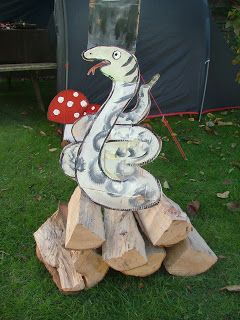 Square Root Events: The Gruffalo party
