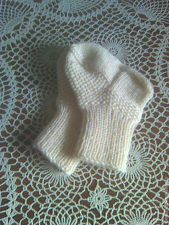 Купить Носочки для детей - белый, однотонный, носочки детские, детские носочки, детские носки, для детей