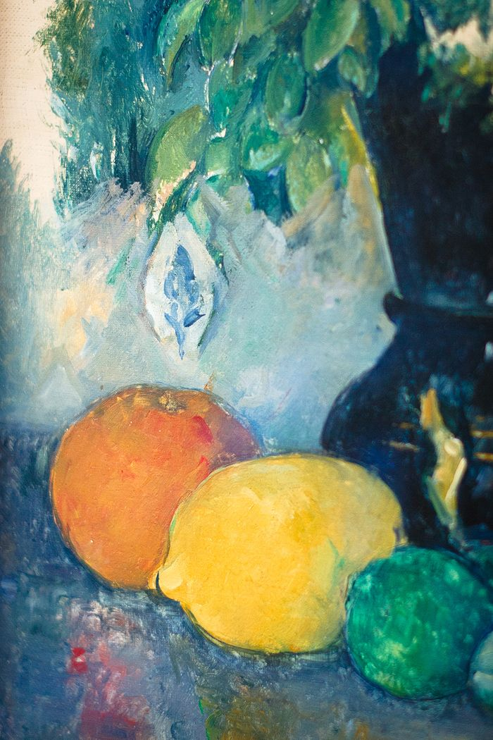 Paul Cezanne detail - Virtual art gallery: Paris « KRISATOMIC*