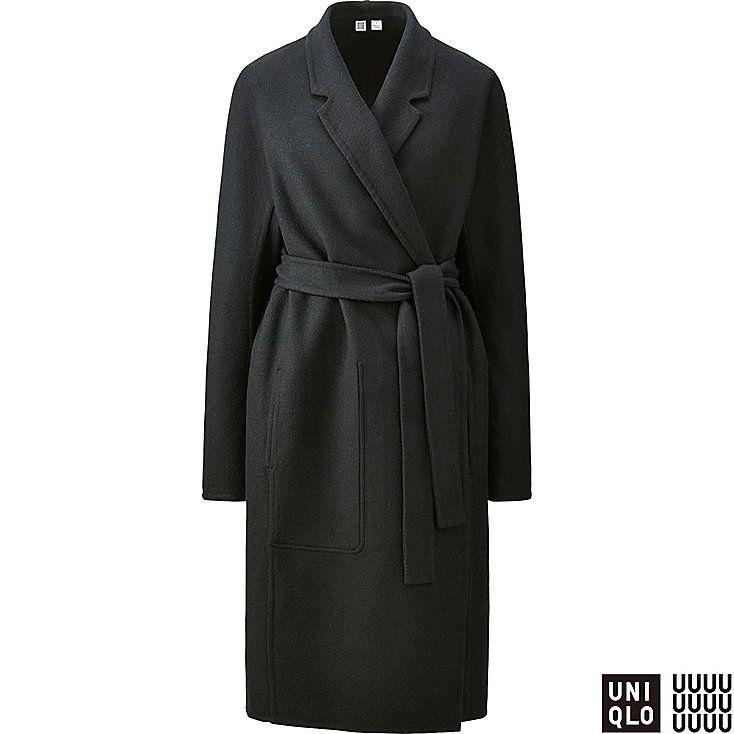 U Manteau en laine mélangée Femme