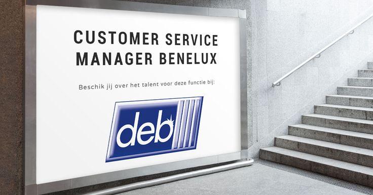 Wil jij als Customer Service Manager Benelux bij Deb-STOKO vanuit Krefeld jezelf en je team naar een hoger niveau tillen?     Bekijk hier de vacature: https://www.wetalent.nl/recruit/vacatures/deb-stoko/customer-service-manager-benelux/283/   #Teamleider   #Benelux #Duitsland #Binnendienst
