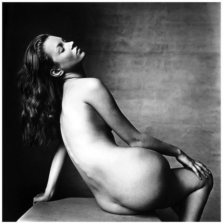 Irving Penn - Kate Moss, New York, April 25, 1996