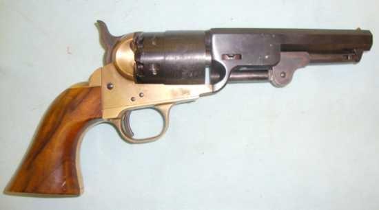 Uberti Colt Navy revolver, 1850, gunstar.co.uk.