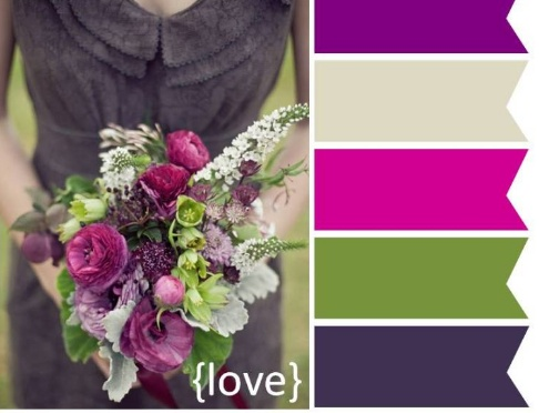 175 best purple green wedding inspiration images on pinterest the perfect palette fall wedding pallette inspiration rich purple green gray junglespirit