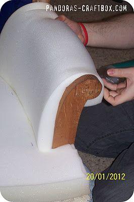 Reupholstering chair part III