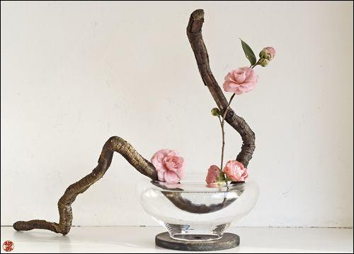 Ikebana-Form of flower arrangement