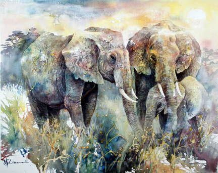 Lian Quan Zhen Elephants