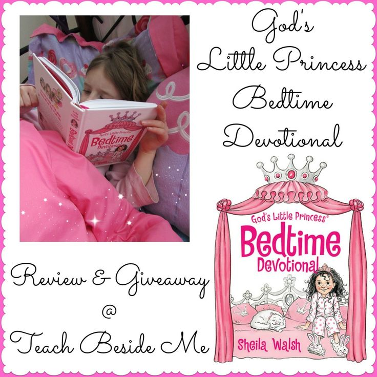 Gods little princess bedtime devotional book for kids