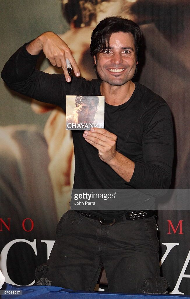 Chayanne celebrates the release of his album ''No Hay Imposibles'' at the Dolphin Mall on February 24, 2010 in Miami, Florida.